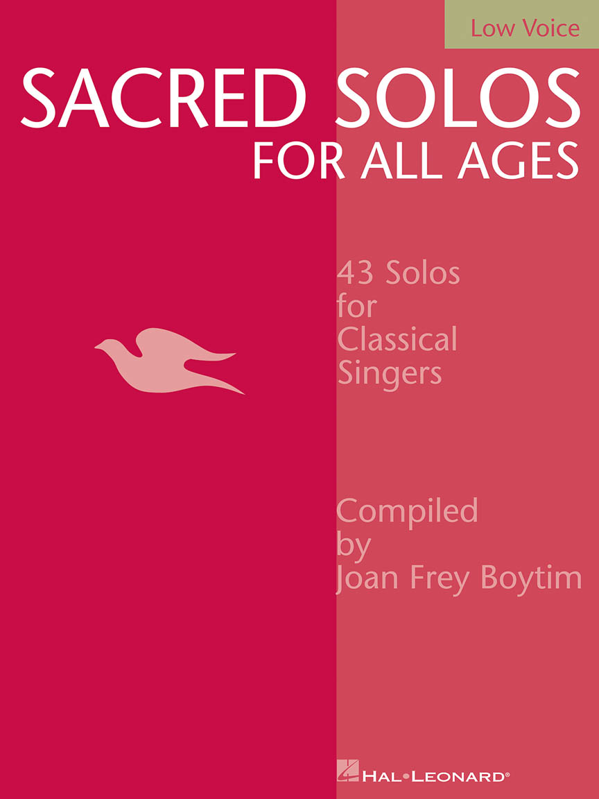 Product Cover for Sacred Solos for All Ages - Low Voice