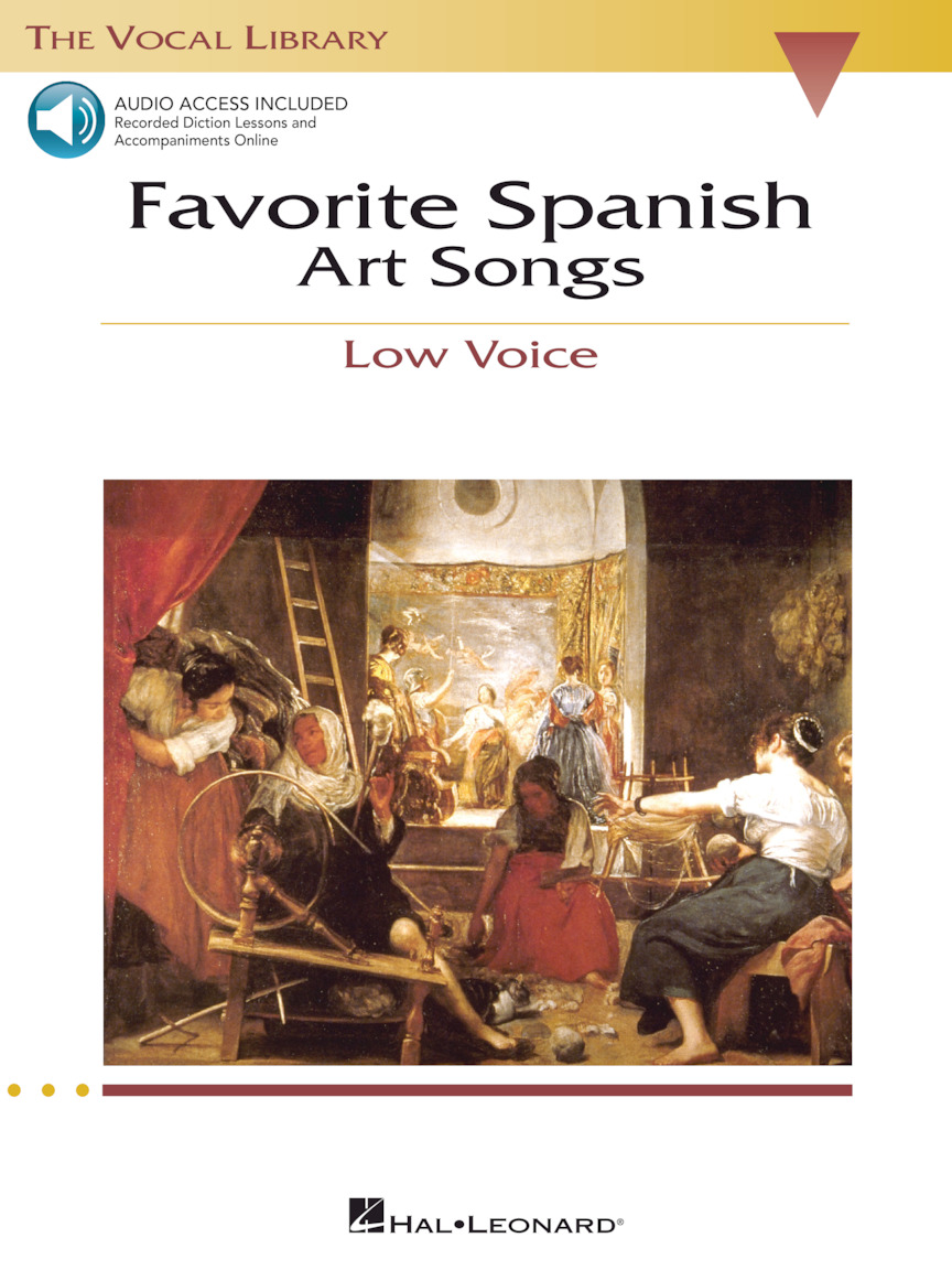 Product Cover for Favorite Spanish Art Songs