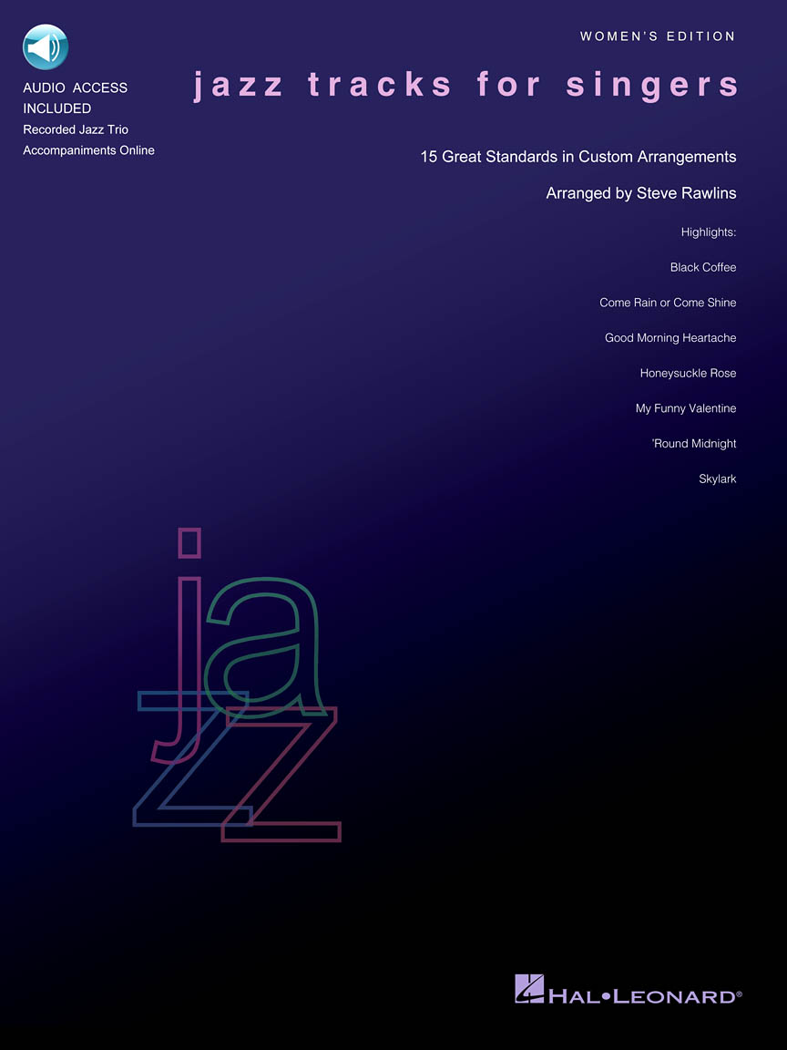 Product Cover for Jazz Tracks for Singers – Women's Edition