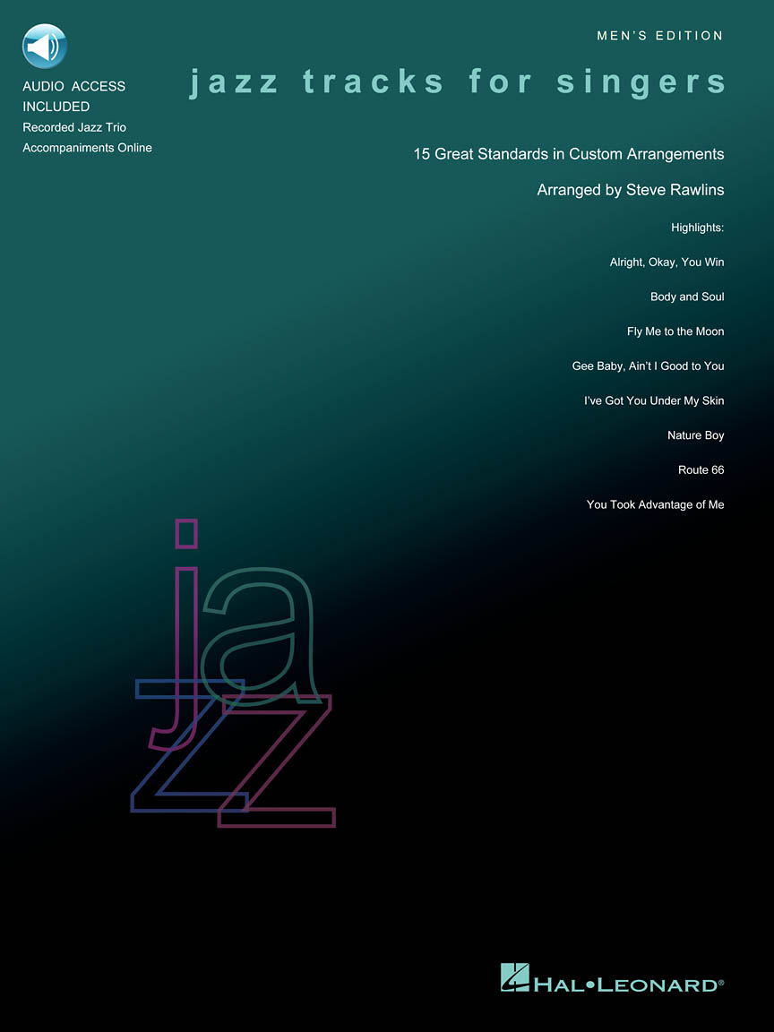 Product Cover for Jazz Tracks for Singers – Men's Edition