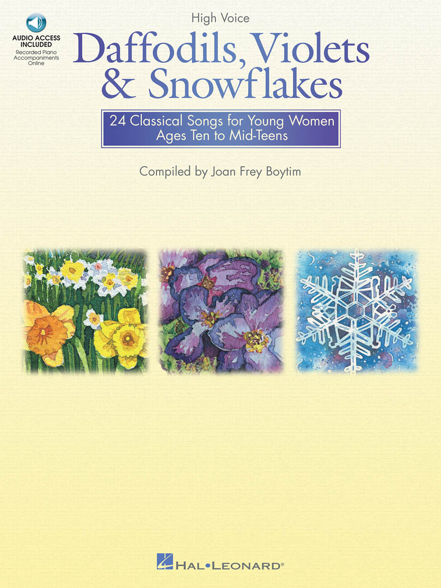 Product Cover for Daffodils, Violets and Snowflakes - High Voice