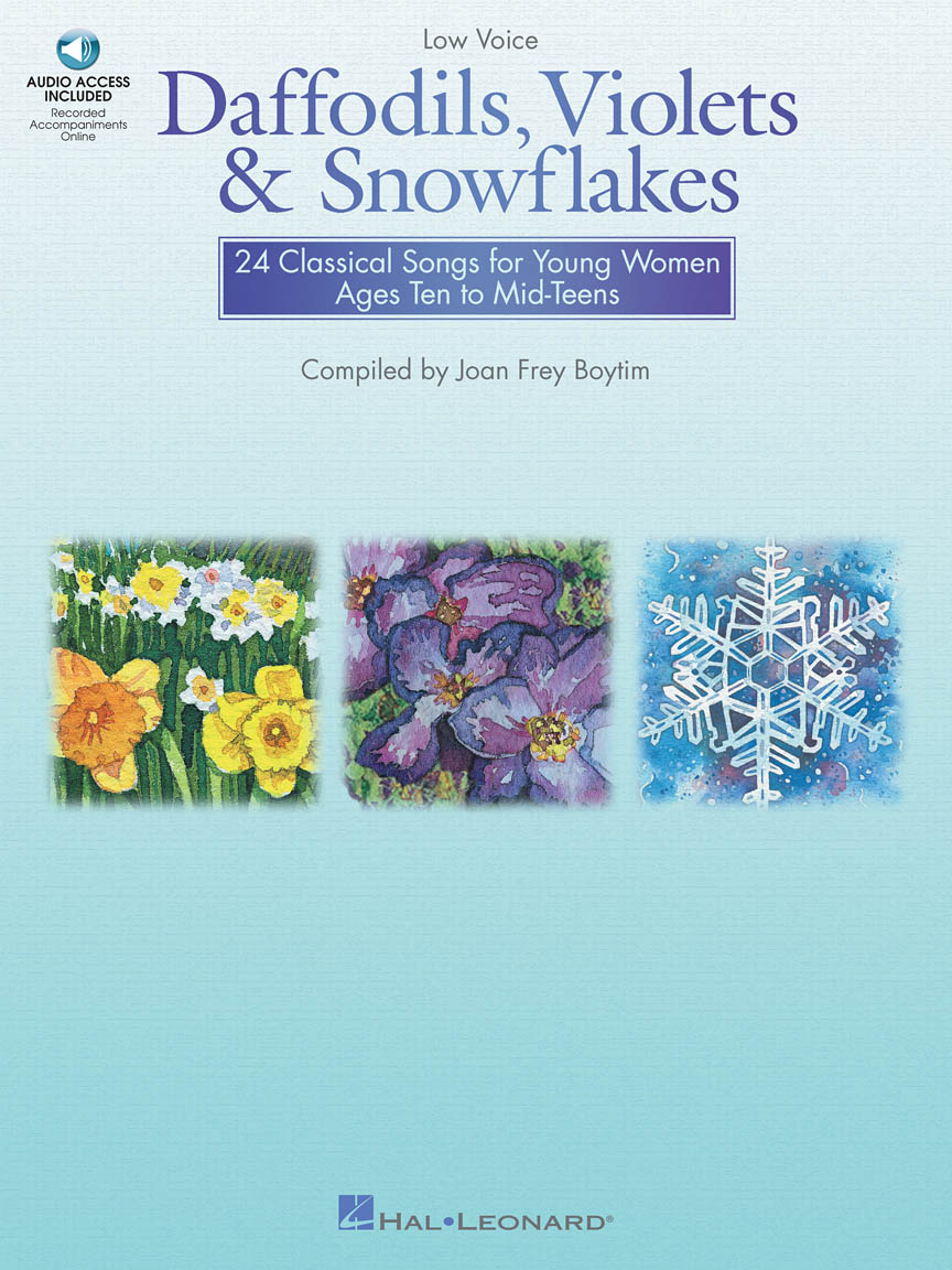 Product Cover for Daffodils, Violets and Snowflakes – Low Voice