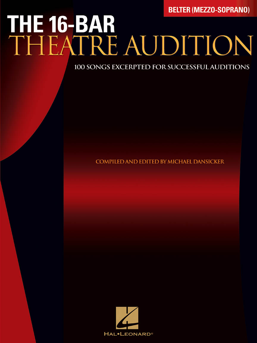 Product Cover for 16-Bar Theatre Audition Belter (Mezzo-Soprano)