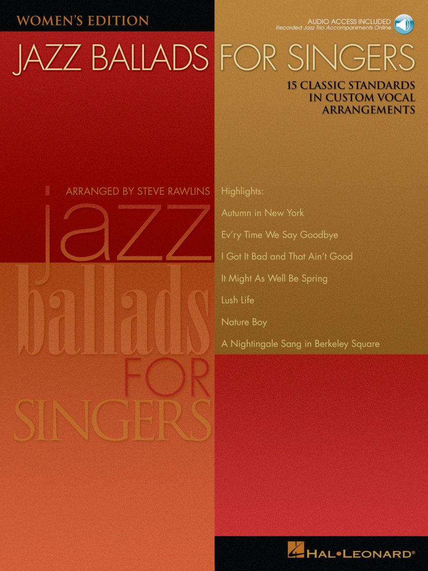 Product Cover for Jazz Ballads for Singers - Women's Edition