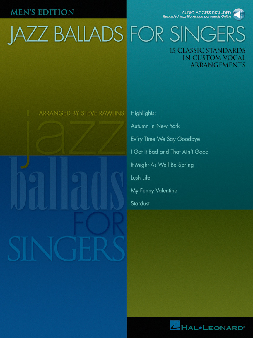 Product Cover for Jazz Ballads for Singers - Men's Edition