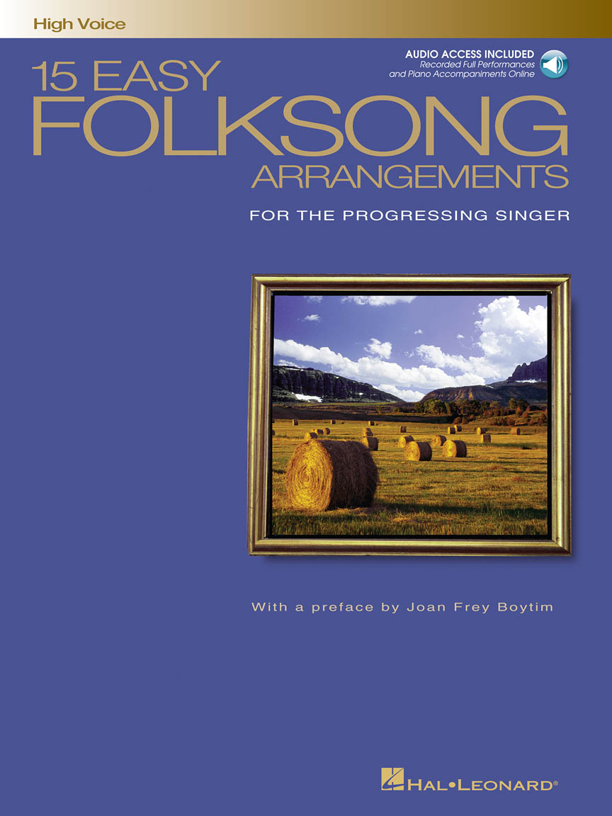 Product Cover for 15 Easy Folksong Arrangements