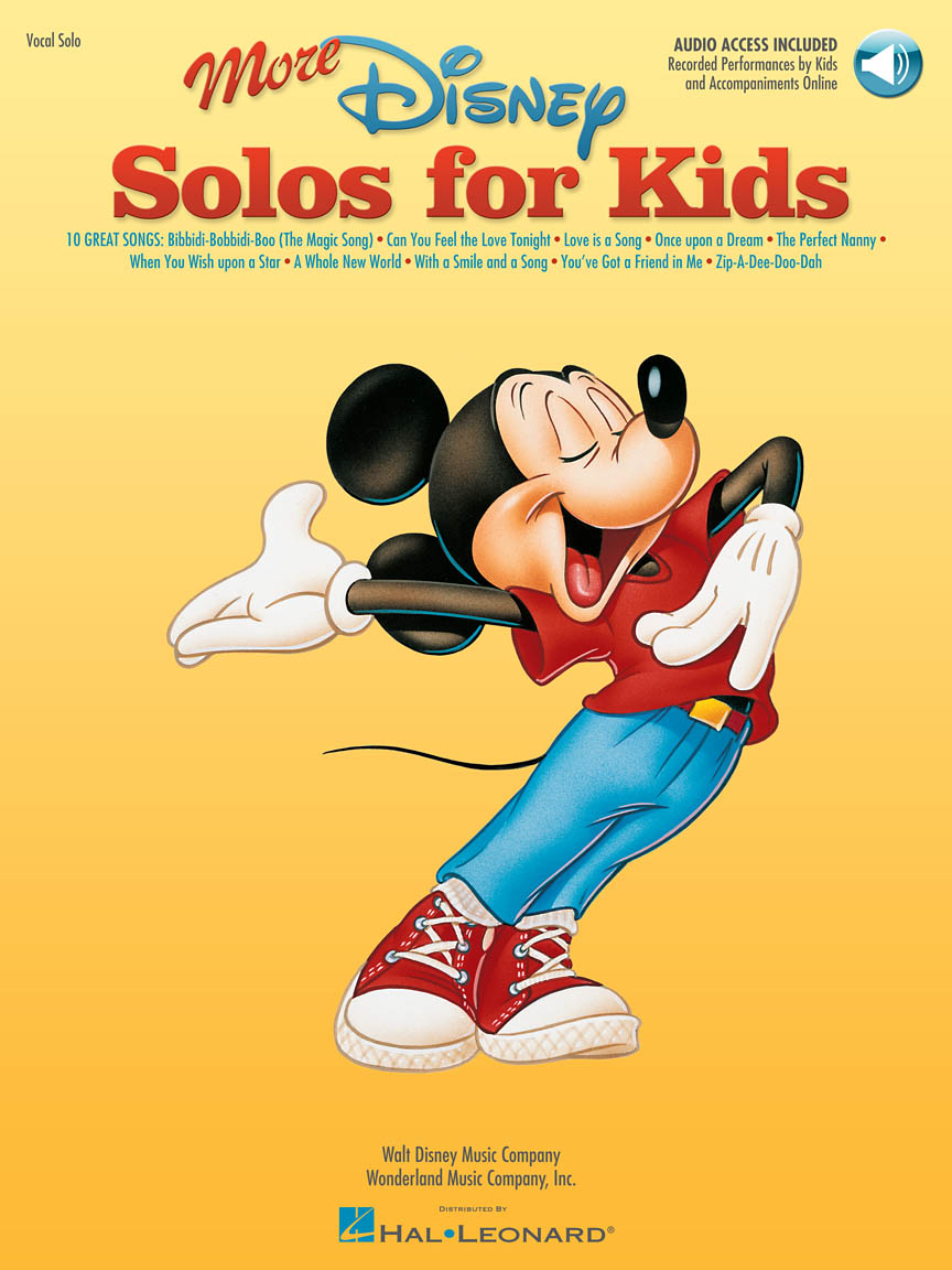 Product Cover for More Disney Solos for Kids