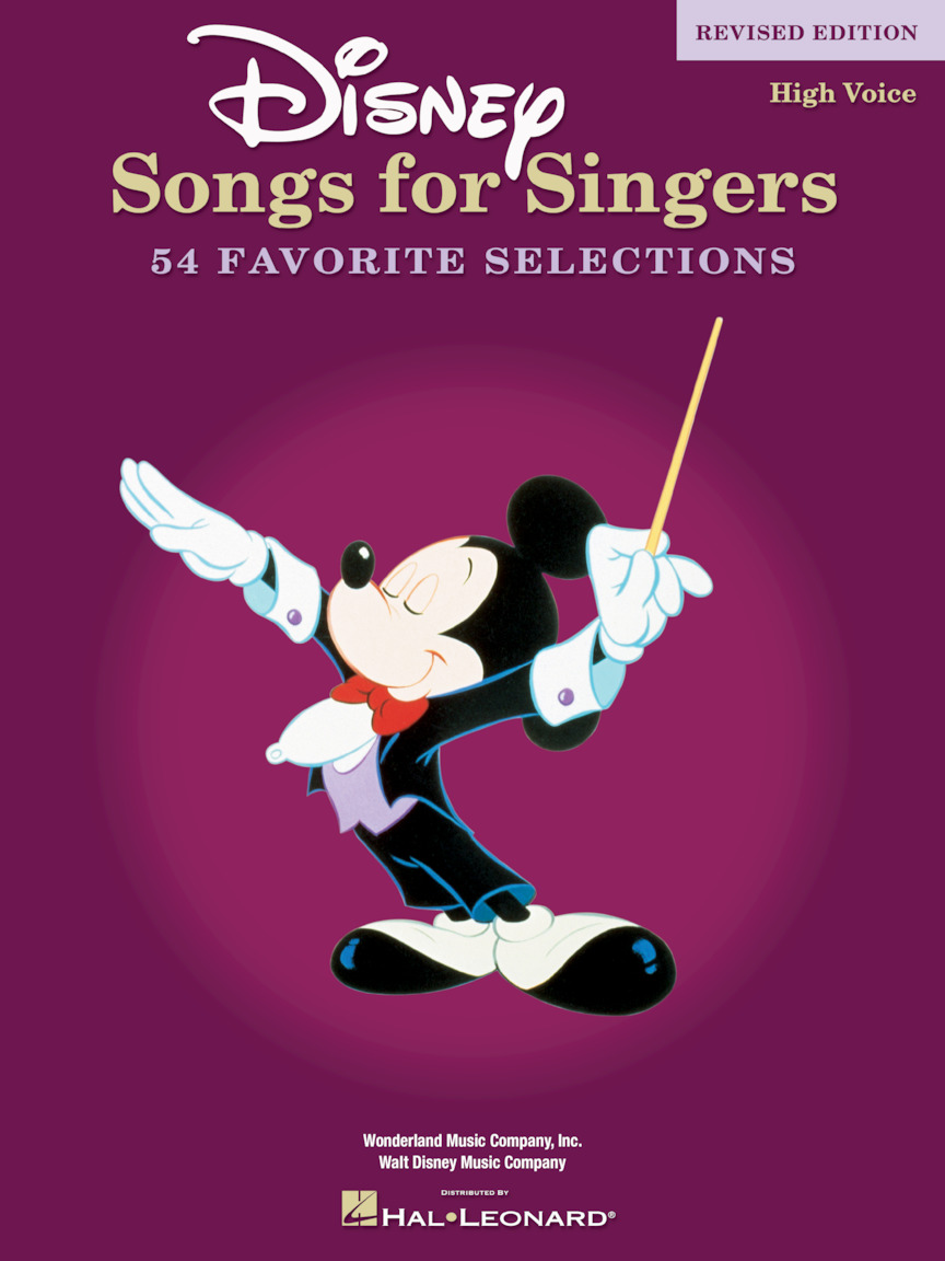 Product Cover for Disney Songs for Singers - Revised Edition