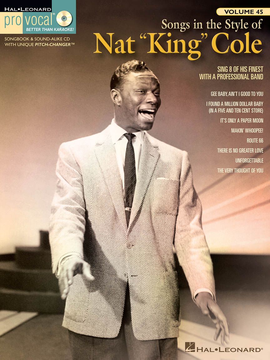 "Product Cover for Songs in the Style of Nat ""King"" Cole"