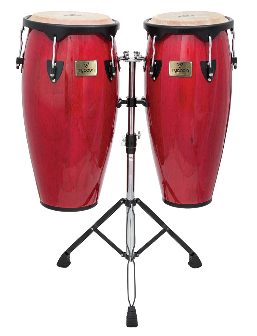 Product Cover for Supremo Series Red Congas