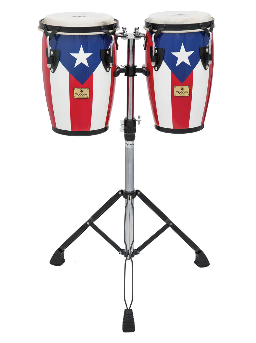 Product Cover for Junior Series Puerto Rican Flag Finish Congas