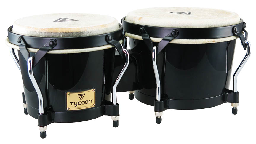 Product Cover for Supremo Series Black Finish Bongos