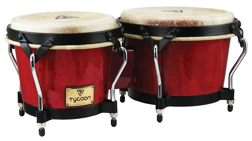 Product Cover for Supremo Series Red Finish Bongos