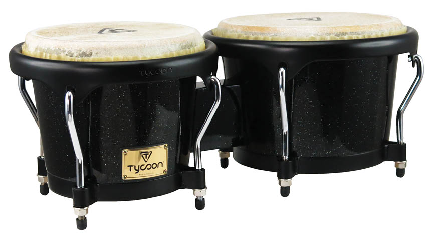 Product Cover for Artist Series Black Metallic Finish Bongos