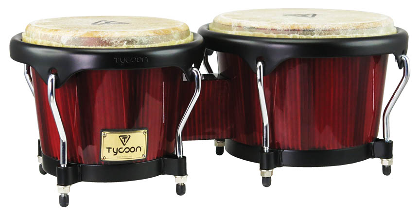 Product Cover for Artist Series Hand-Painted Red Finish Bongos