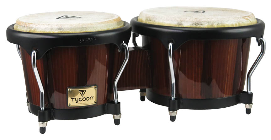 Product Cover for Artist Series Hand-Painted Brown Finish Bongos