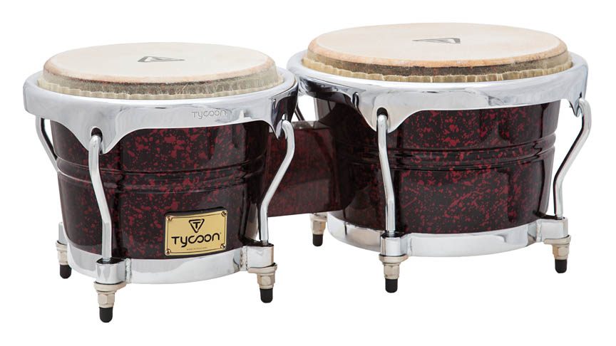 Product Cover for Concerto Series Red Pearl Finish Bongos