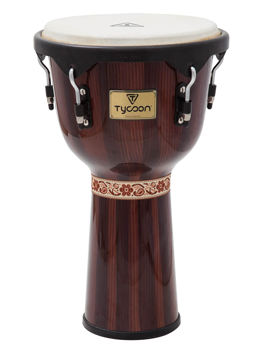 Product Cover for Artist Series Hand-Painted Brown Finish Djembe