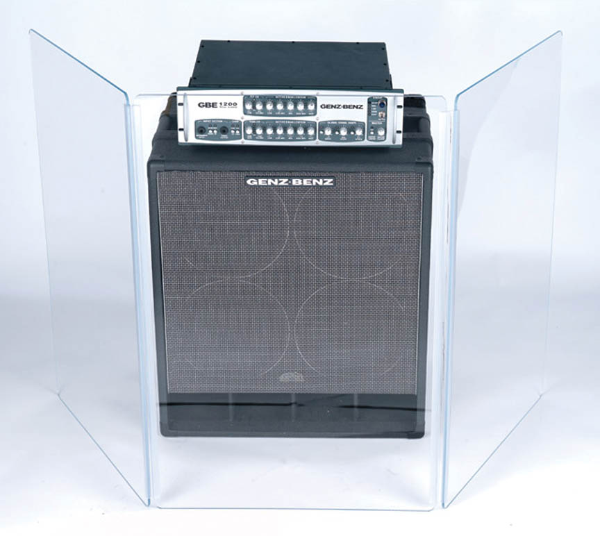 Product Cover for Sound and Virus Shield for Floor Amp or Table Top