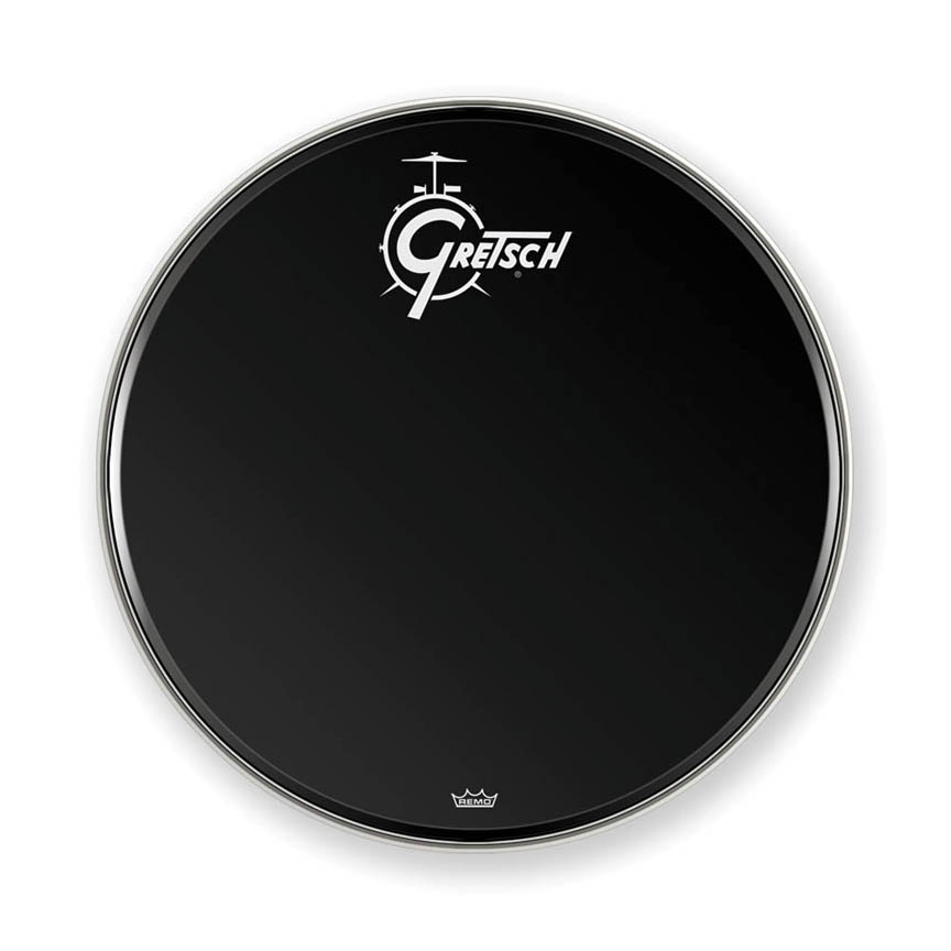 Product Cover for Gretsch Bass Head, Ebony 24in Logo