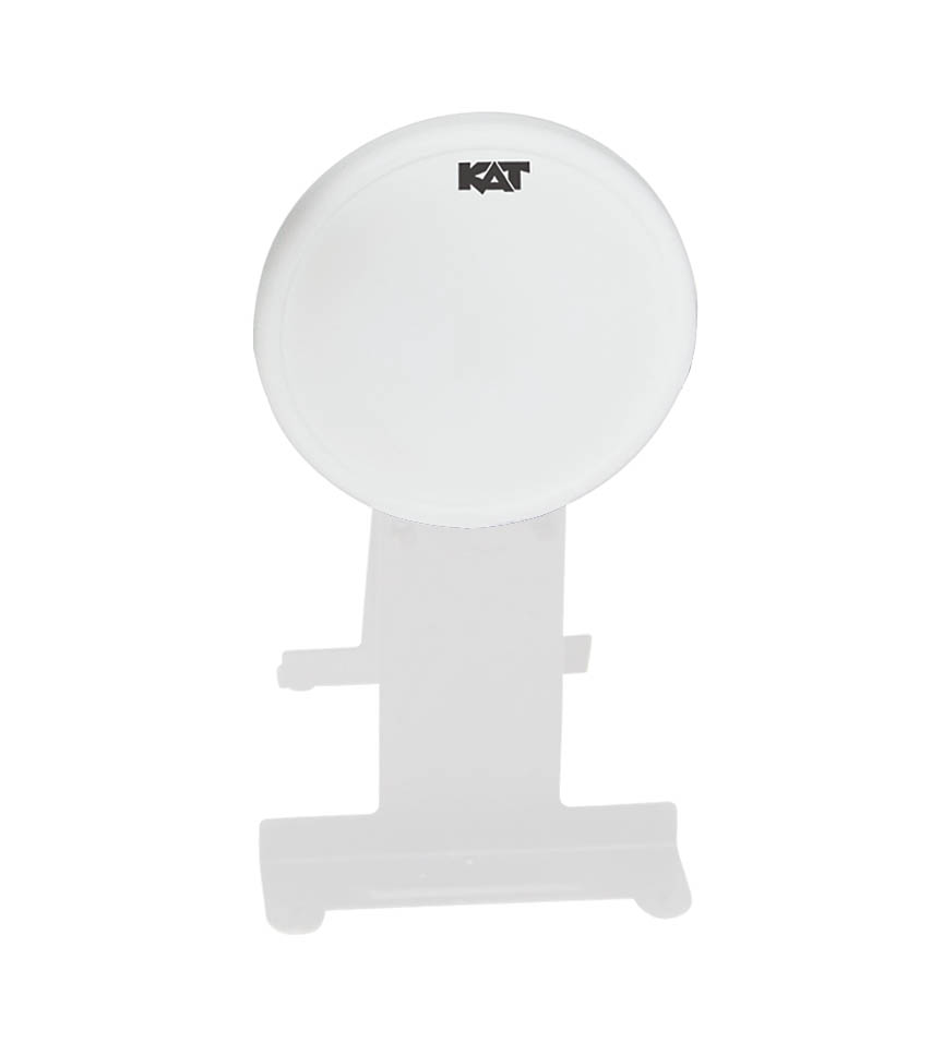 Product Cover for Single Zone Bass Pad 9 In White