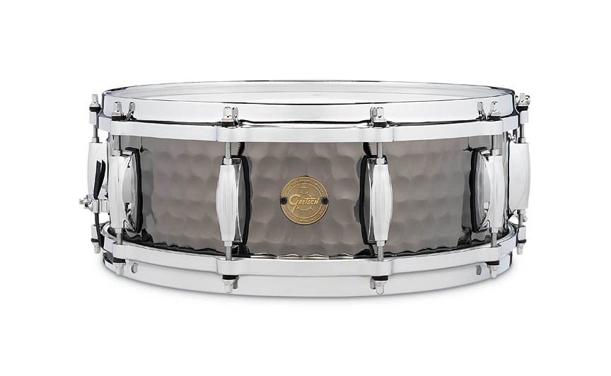 Product Cover for Gretsch Hammered Black Steel Snare Drum