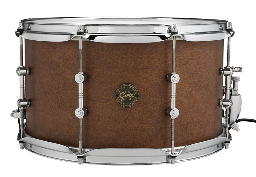 "Product Cover for Gretsch 8X14 ""Swamp Dawg"" Mahogany Snare Drum"