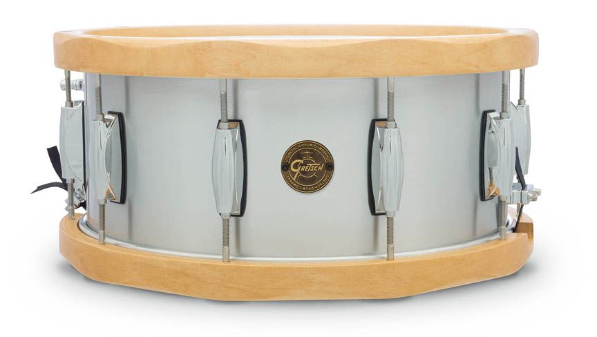 Product Cover for Gretsch 6.5x14 Aluminum Wood Hoop Snare Drum