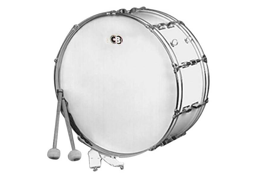 картинка большого и маленького барабана примере