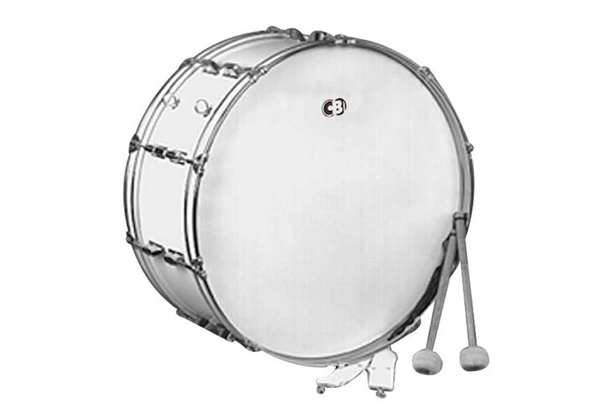 Product Cover for Cb700 14x22 Bass Drum-white