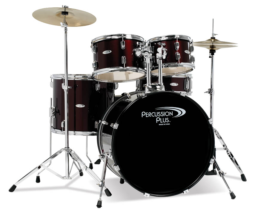Product Cover for Percussion Plus 5-Piece Drum Set