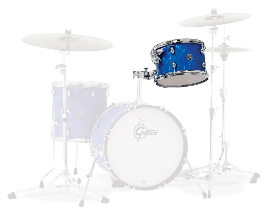 Product Cover for Gretsch Catalina Club 7x10 Rack Tom in Satin Blue Flame
