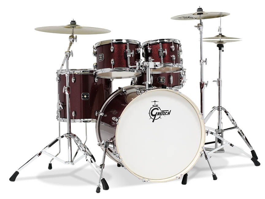 Product Cover for Gretsch Energy 5 Piece Set with Hardware (22/10/12/16/14SN)