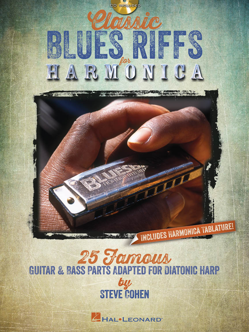 Product Cover for Classic Blues Riffs for Harmonica