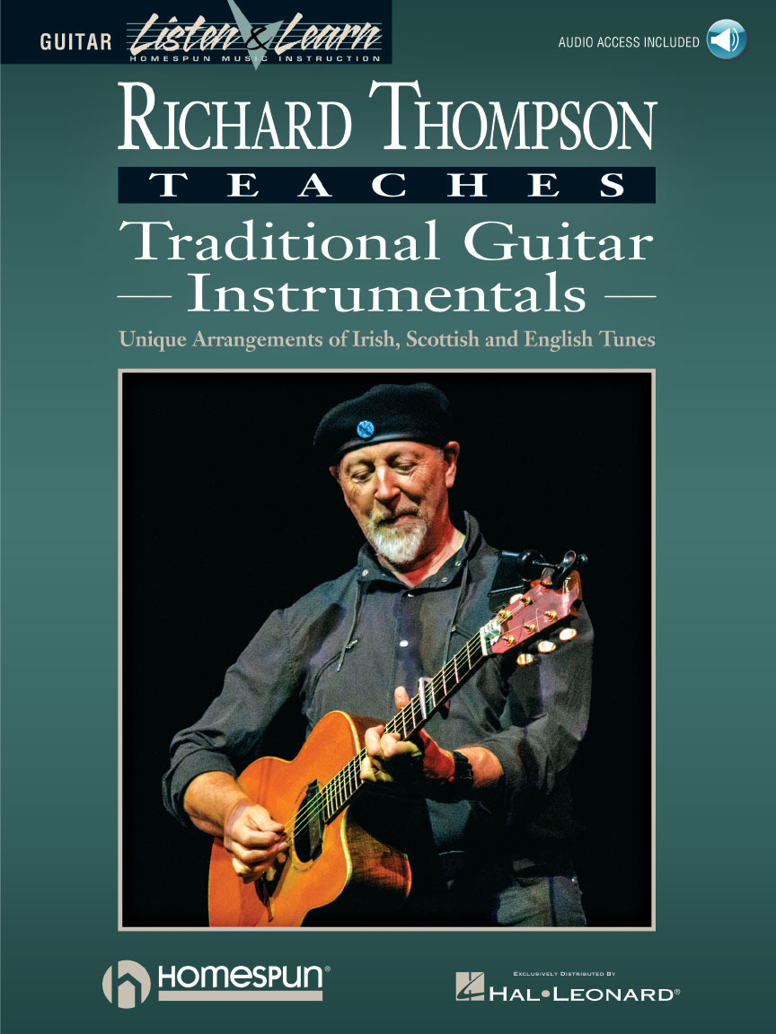 Product Cover for Richard Thompson Teaches Traditional Guitar Instrumentals