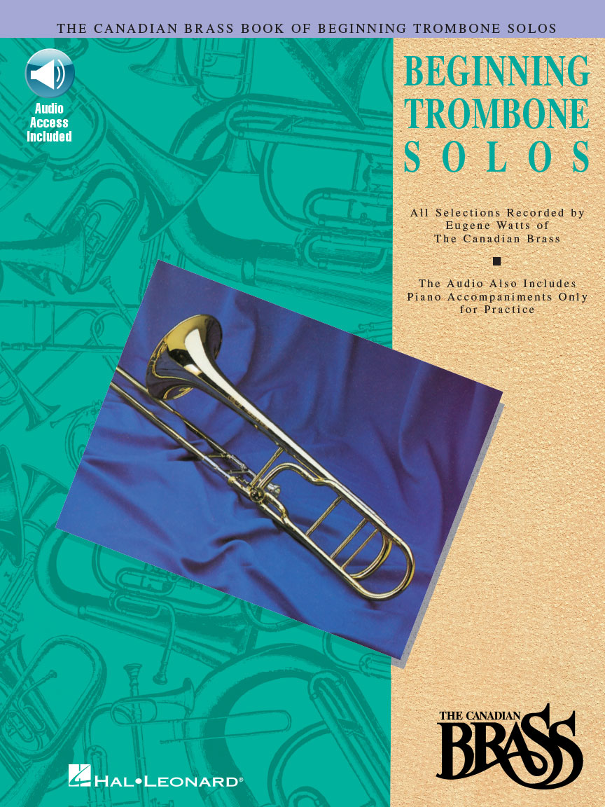 Product Cover for The Canadian Brass Book of Beginning Trombone Solos