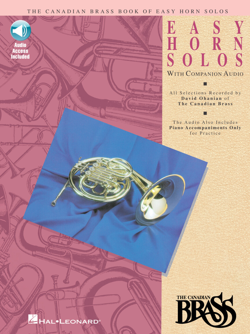 Product Cover for Canadian Brass Book of Easy Horn Solos