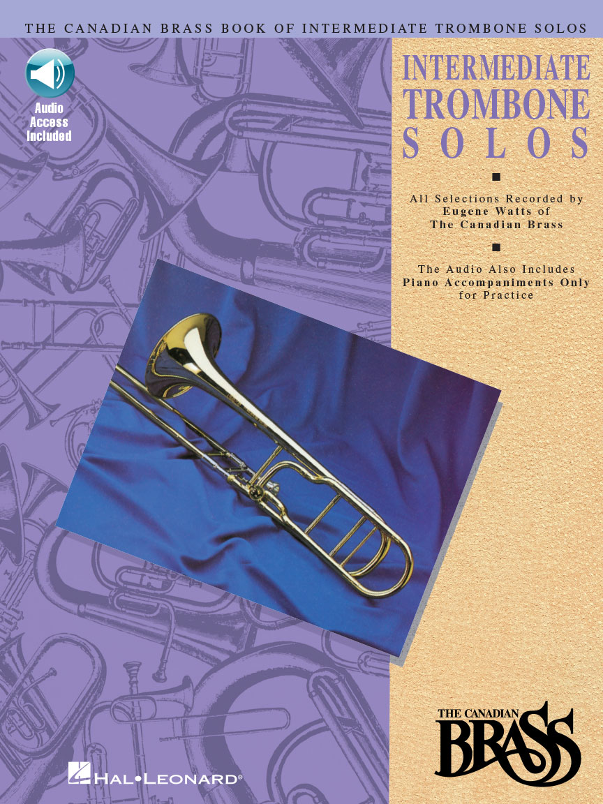 Product Cover for Canadian Brass Book of Intermediate Trombone Solos