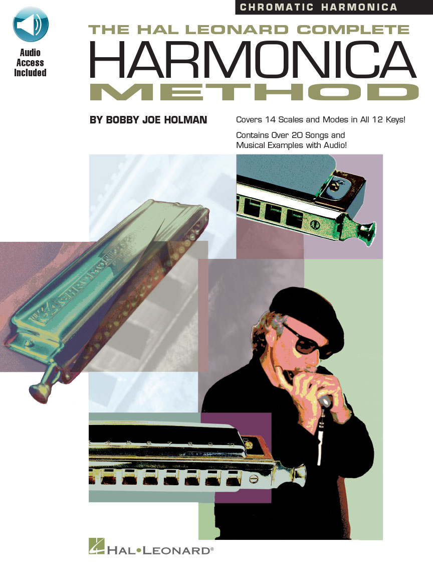 Product Cover for The Hal Leonard Complete Harmonica Method – Chromatic Harmonica