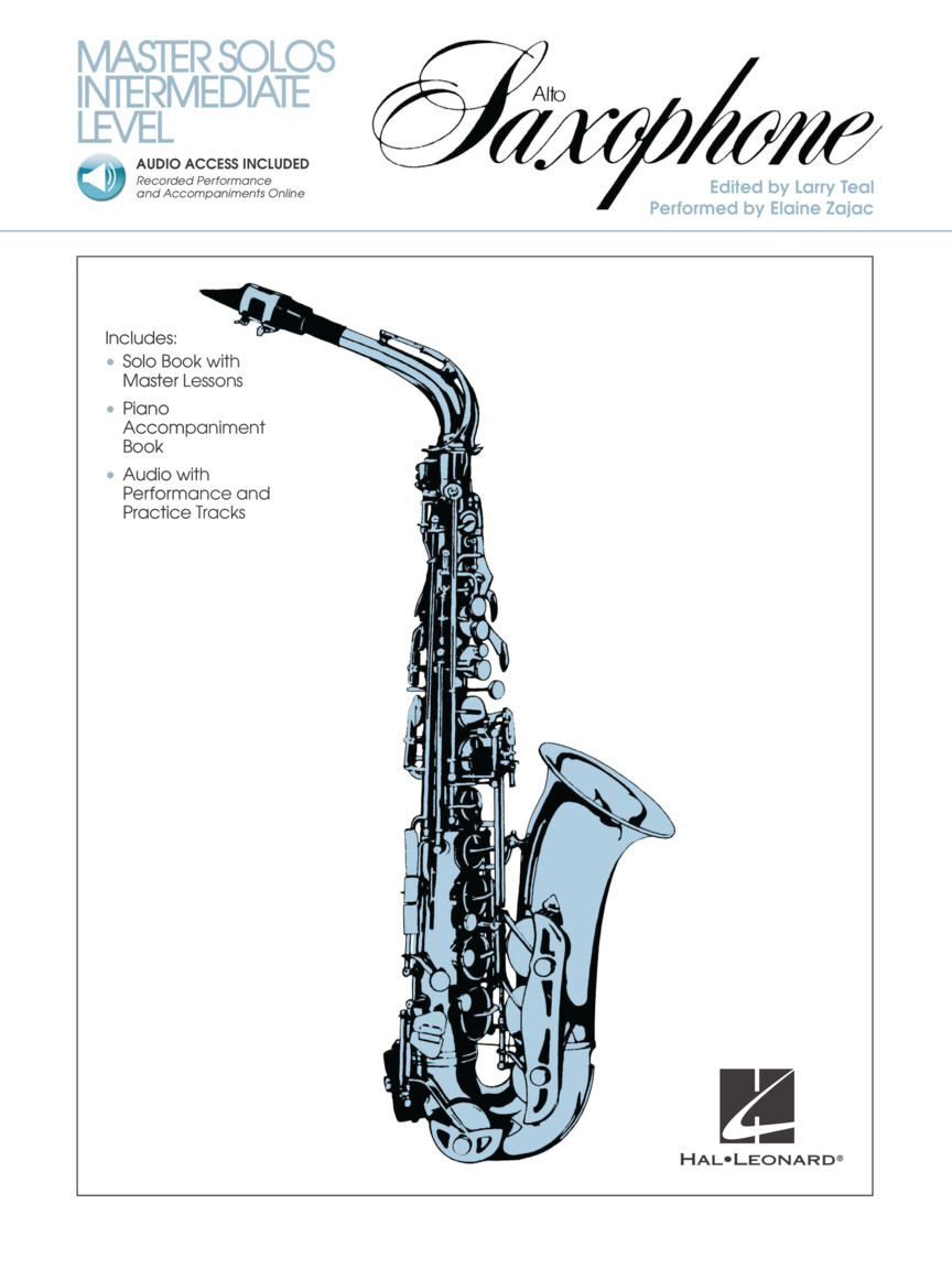 Product Cover for Master Solos Intermediate Level – Alto Sax