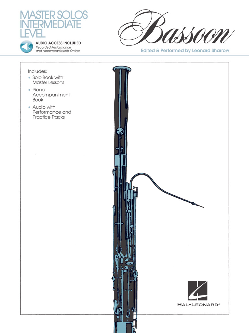 Product Cover for Master Solos Intermediate Level – Bassoon