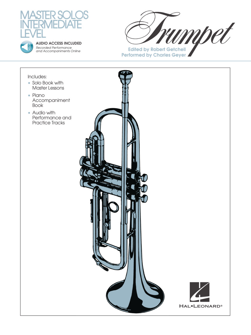 Product Cover for Master Solos Intermediate Level – Trumpet