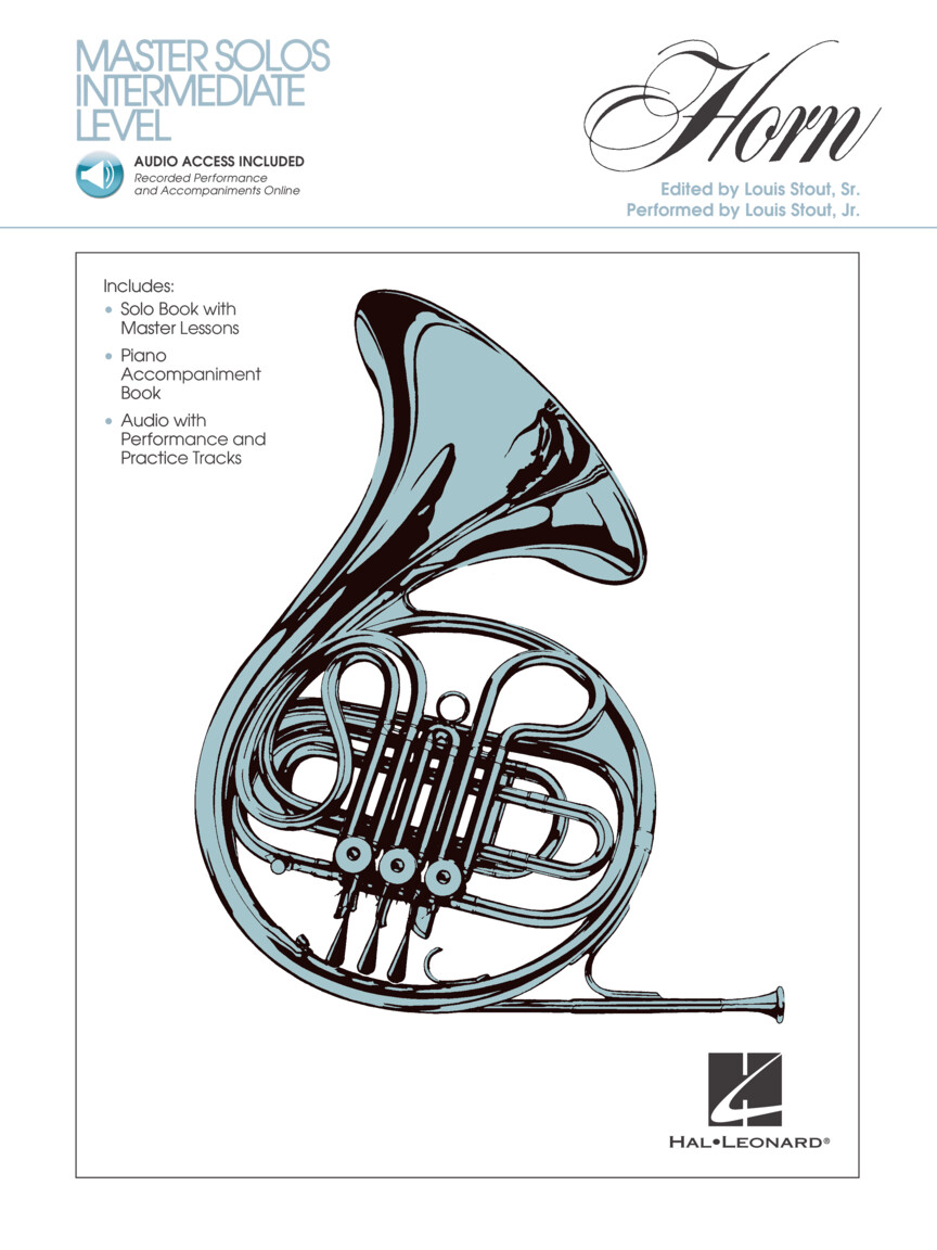 Product Cover for Master Solos Intermediate Level – French Horn