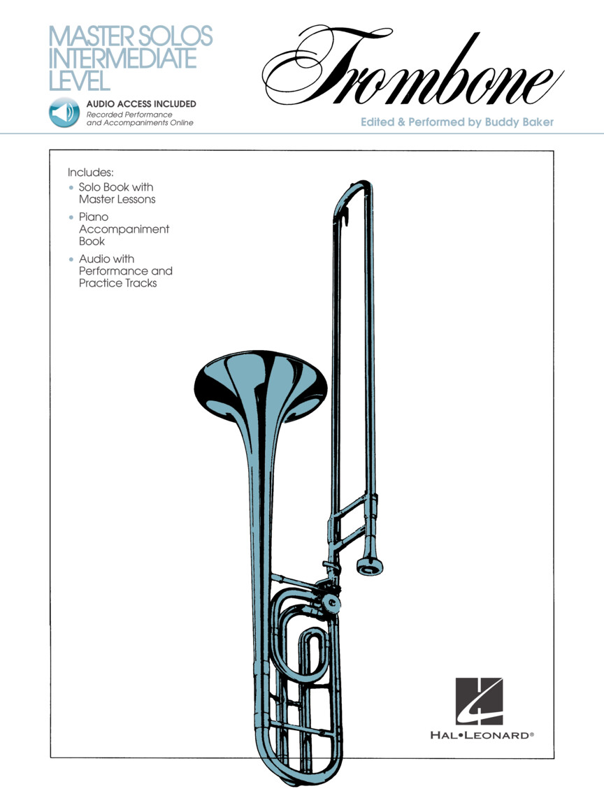 Product Cover for Master Solos Intermediate Level – Trombone