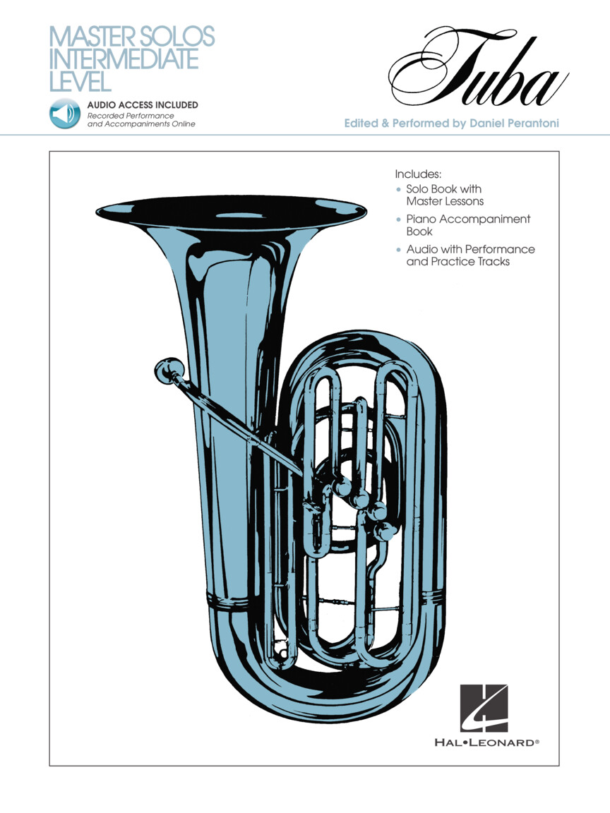 Product Cover for Master Solos Intermediate Level – Tuba (B.C.)