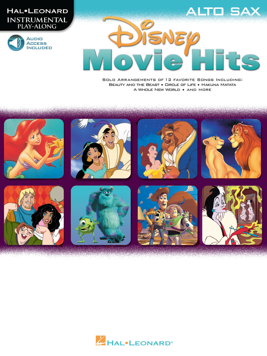Product Cover for Disney Movie Hits for Alto Sax