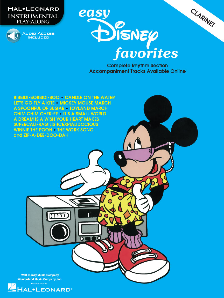 Product Cover for Easy Disney Favorites