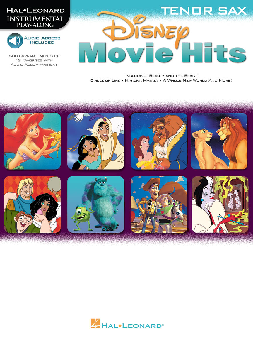 Product Cover for Disney Movie Hits for Tenor Sax