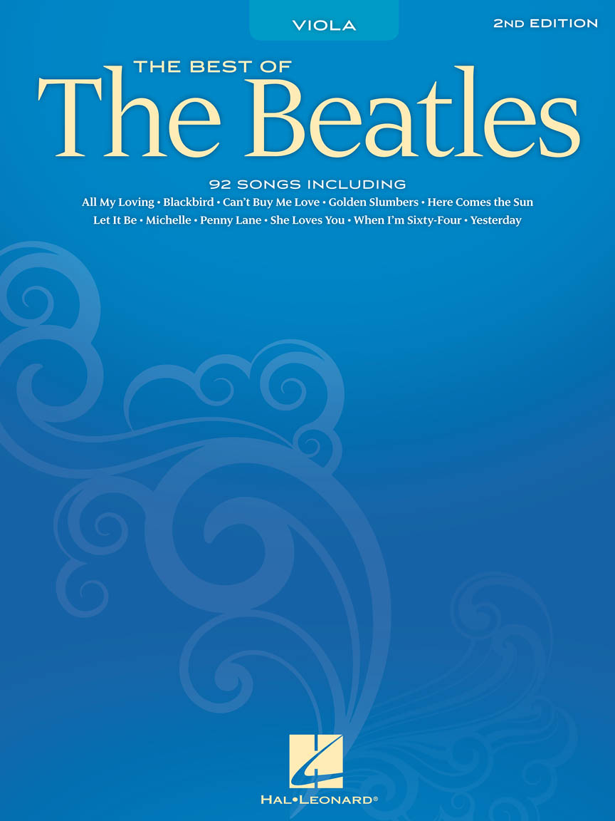 Product Cover for Best of the Beatles for Viola – 2nd Edition