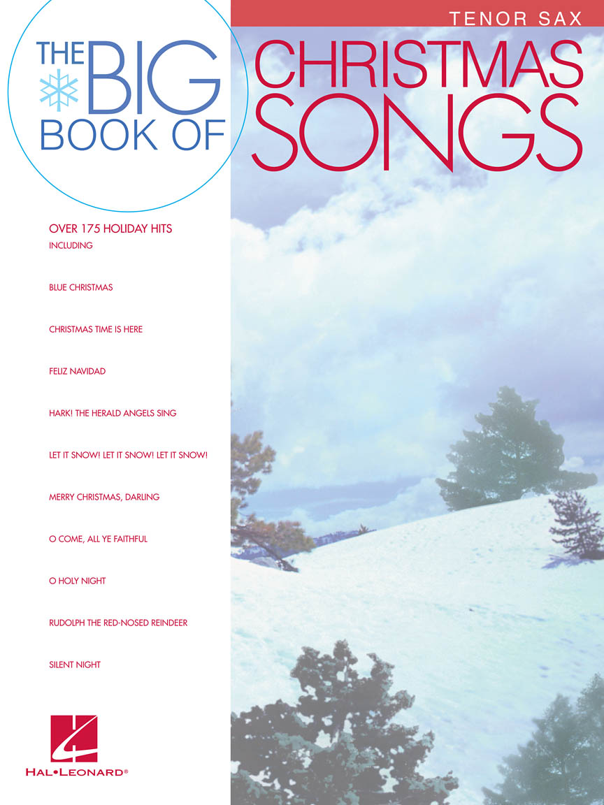 Product Cover for Big Book of Christmas Songs for Tenor Sax